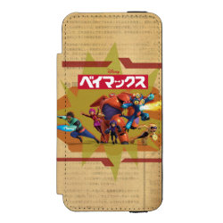 Incipio Watson™ iPhone 5/5s Wallet Case with Big Hero 6 Superheroes Together design