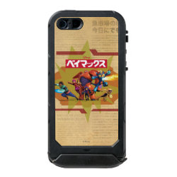 Incipio Feather Shine iPhone 5/5s Case with Big Hero 6 Superheroes Together design
