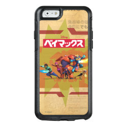 OtterBox Symmetry iPhone 6/6s Case with Big Hero 6 Superheroes Together design