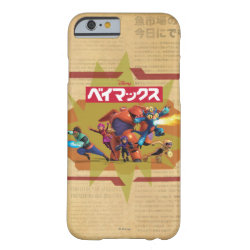 Case-Mate Barely There iPhone 6 Case with Big Hero 6 Superheroes Together design