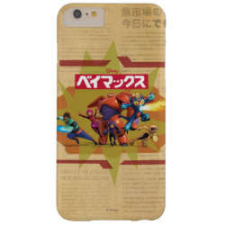Case-Mate Barely There iPhone 6 Plus Case with Big Hero 6 Superheroes Together design