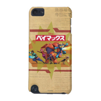 Big Hero 6 Superheros iPod Touch (5th Generation) Cases