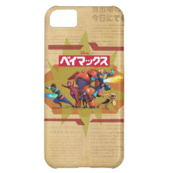 Case-Mate Barely There iPhone 5C Case with Big Hero 6 Superheroes Together design
