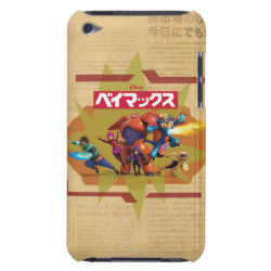 Case-Mate iPod Touch Barely There Case with Big Hero 6 Superheroes Together design