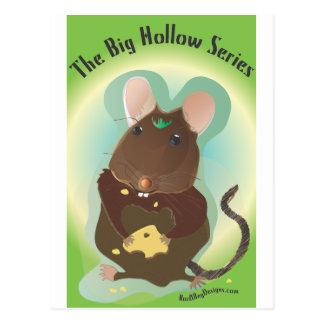 Big Hollow Series Mouse Shirt Post Card