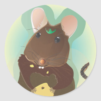 Big Hollow Series Mouse Shirt Stickers