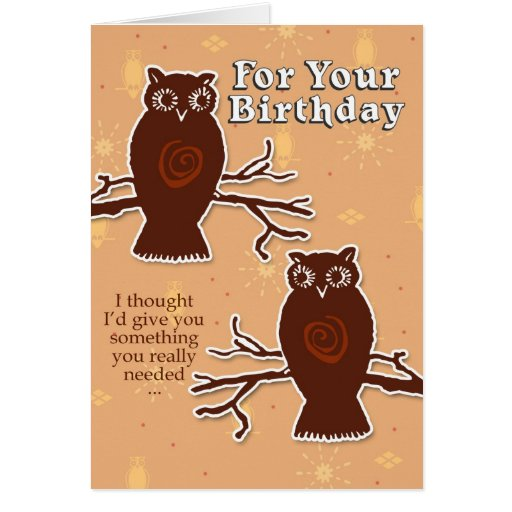 Big Hooters Greeting Cards