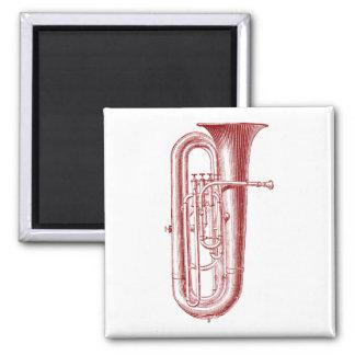 Big Horn 2 Inch Square Magnet