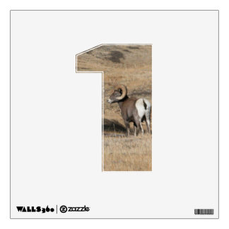 Big Horn Ram 1 Wall Decal