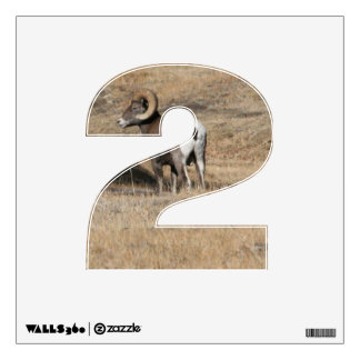 Big Horn Ram 2 Wall Decal