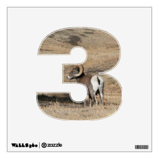 Big Horn Ram 3 Wall Decal