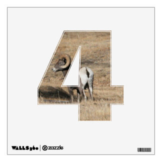Big Horn Ram 4 Wall Decal