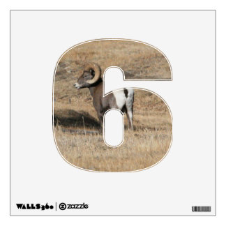 Big Horn Ram 6 Wall Decal