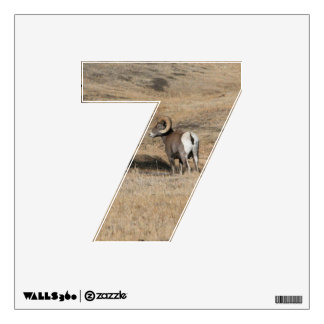 Big Horn Ram 7 Wall Decal