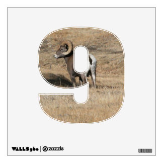 Big Horn Ram 9 Wall Decal