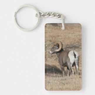Big Horn Ram Acrylic Keychain
