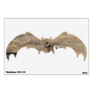 Big Horn Ram Bat Wall Decal