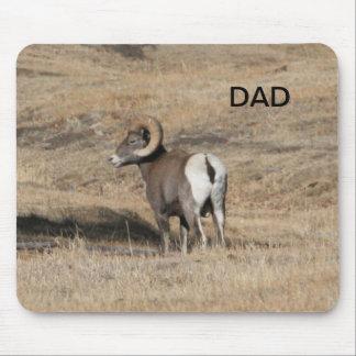 Big Horn Ram Dad Mouse Pad