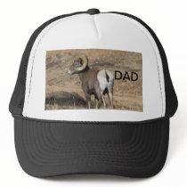 Big Horn Ram Dad Trucker Hat