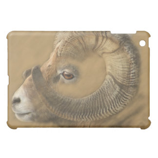 Big Horn Ram Drawing Cover For The iPad Mini
