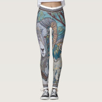 Big Horn Sheep Leggings