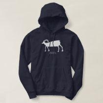 Big Horn Sheep Petroglyph Hoodie