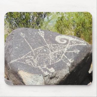 Big horn sheep petroglyph mouse pad