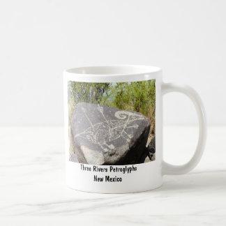 Big horn sheep petroglyph classic white coffee mug