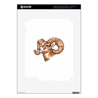 Big Horn Sheep iPad 3 Decal