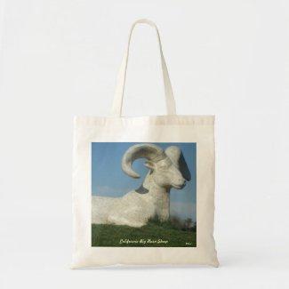 BIG HORN SHEEP TOTE zazzle_bag