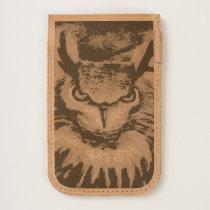 Big Horned Grumpy Owl iPhone 6/6S Case