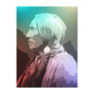 Big Horse - Southern Cheyenne Canvas Print