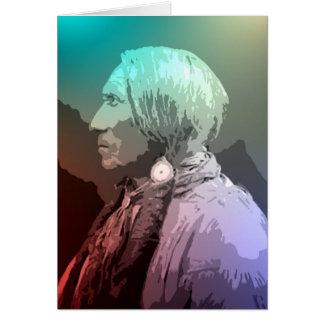 Big Horse - Southern Cheyenne Card