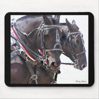 Big Horses Mousepad