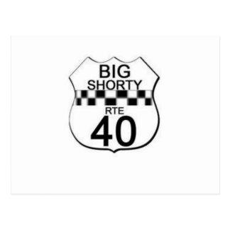 BIG $HORTY ROUTE 40 LINE POSTCARD