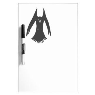 Big Hovering Crow on Multiple products Dry Erase Board