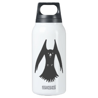 Big Hovering Crow on Multiple Thermos Water Bottle