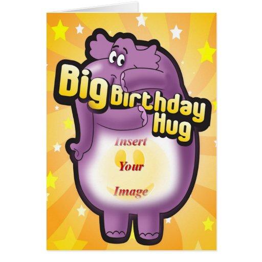 Big Hug Greeting Card