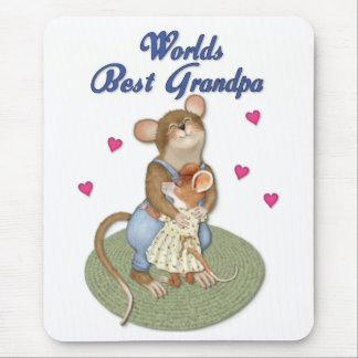 Big Hugs Grandpa Mouse Mat