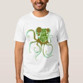 Big Hurt Girls Alien Octopus T-Shirt
