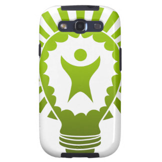 Big Idea Lightbulb Man Samsung Galaxy SIII Covers