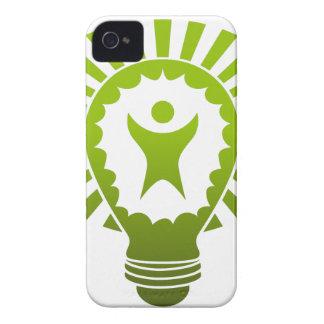Big Idea Lightbulb Man iPhone 4 Case-Mate Case