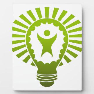 Big Idea Lightbulb Man Plaque