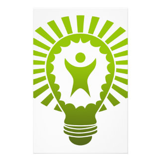 Big Idea Lightbulb Man Stationery
