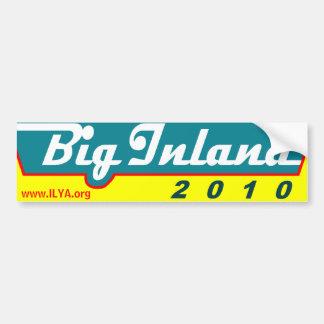 Big Inland 2010 bumper sticker Car Bumper Sticker