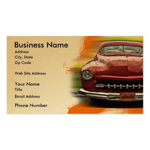 Big Iron Business Card Template