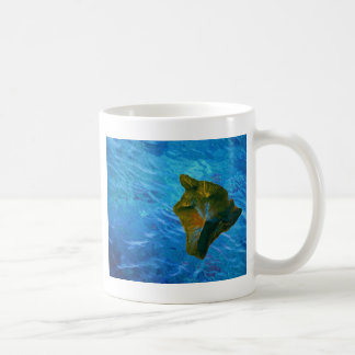 Big Island Digital Image on Ocean Coffee Mug