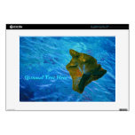 Big Island Digital Image on Ocean Laptop Decals
