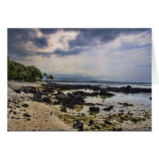 Big Island Hawaii Beach Greeting Card