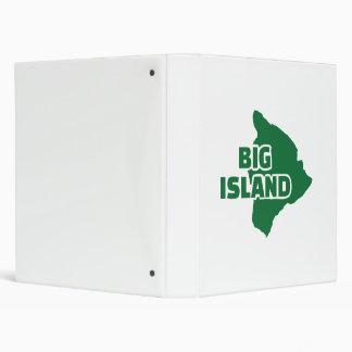 Big Island Hawaii Binder